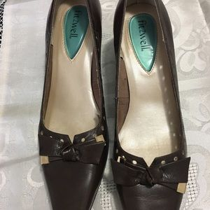 Fit zwell brown shoes